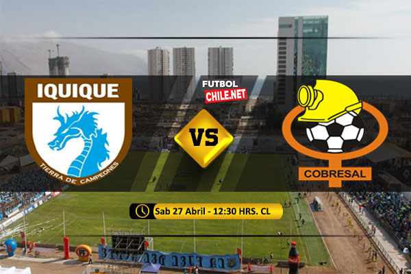 Mira Deportes Iquique vs Cobresal en vivo y online por la Primera Division