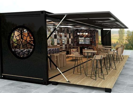 Container Homes Design cafe