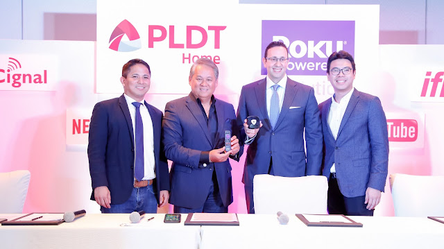 PLDT Home launches Roku PoweredTM TVolution in PH