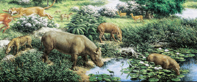 Resultado de imagen para paleoceno fauna