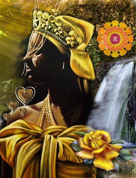 Batuque do Rio Grande Sul Lendas dos Orixás Orixás Oxum Religião Afro  - Como Oxum Conseguiu Participar Das Reuniões Dos Orixás Masculinos?