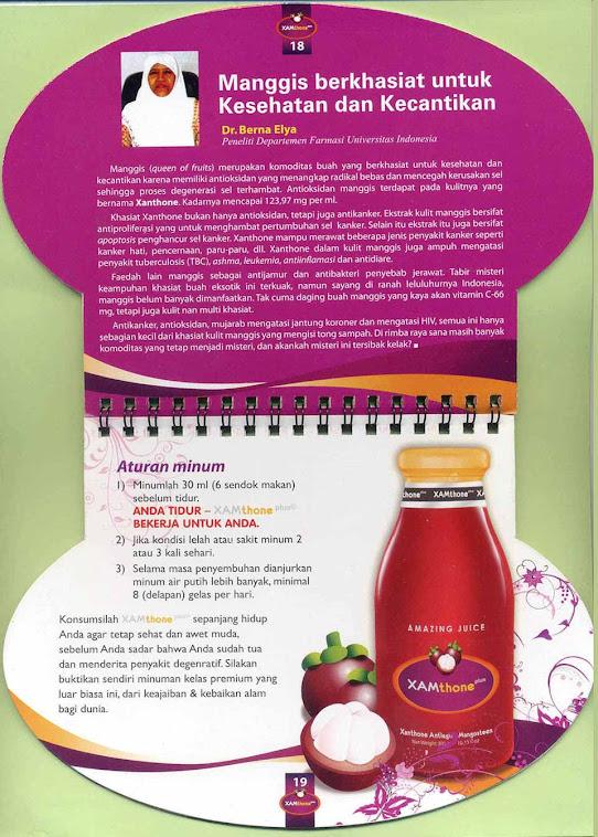 Xamthone Manggis, Suplemen Serbaguna Enak dan Berkhasiat