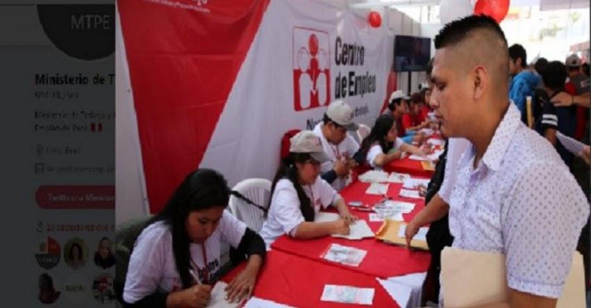 Más de 2 mil empleos formales ofrece el Ministerio de Trabajo en Piura - www.trabajo.gob.pe