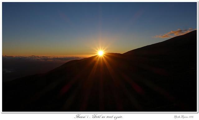 Hawai'i: Until we meet again