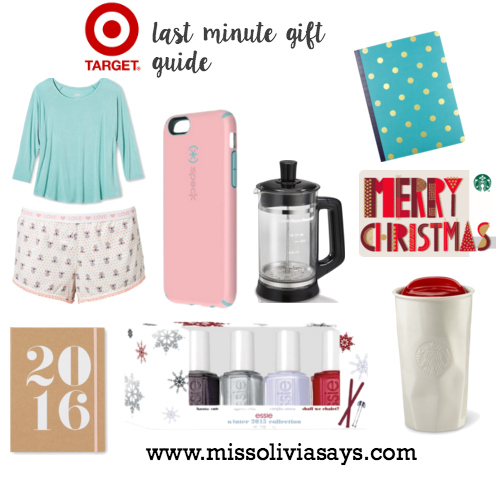 Last minute Christmas present ideas from Target
