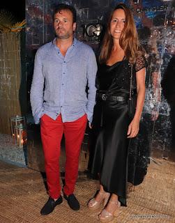 Juan Pablo Maglier y su mujer Magdalena