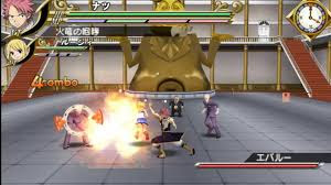 Download Fairy Tail Portable Guild PSP For PC Full Version - ZGASPC