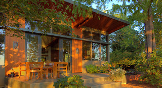 Prefabricated home, Portland, Oregon
