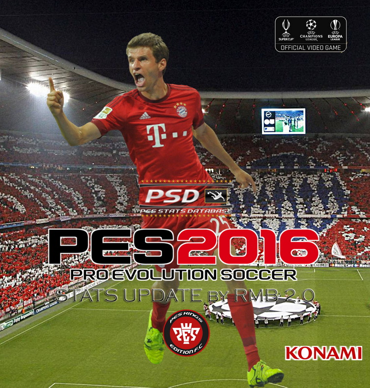 Pes Stats Database: Pes-modif: PES 2016 PSD Stats For PTE 5 By RMB (V2.0