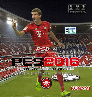 PES 2016 PSD Stats for PTE 5 by RMB (V2.0)