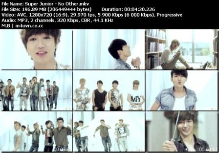 ELF FOR SUPER JUNIOR: Download MV Super Junior - No Other