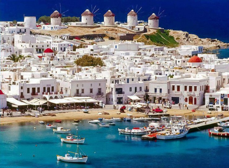 33 Amazing Beaches From Around The World - Mykonos, Greece