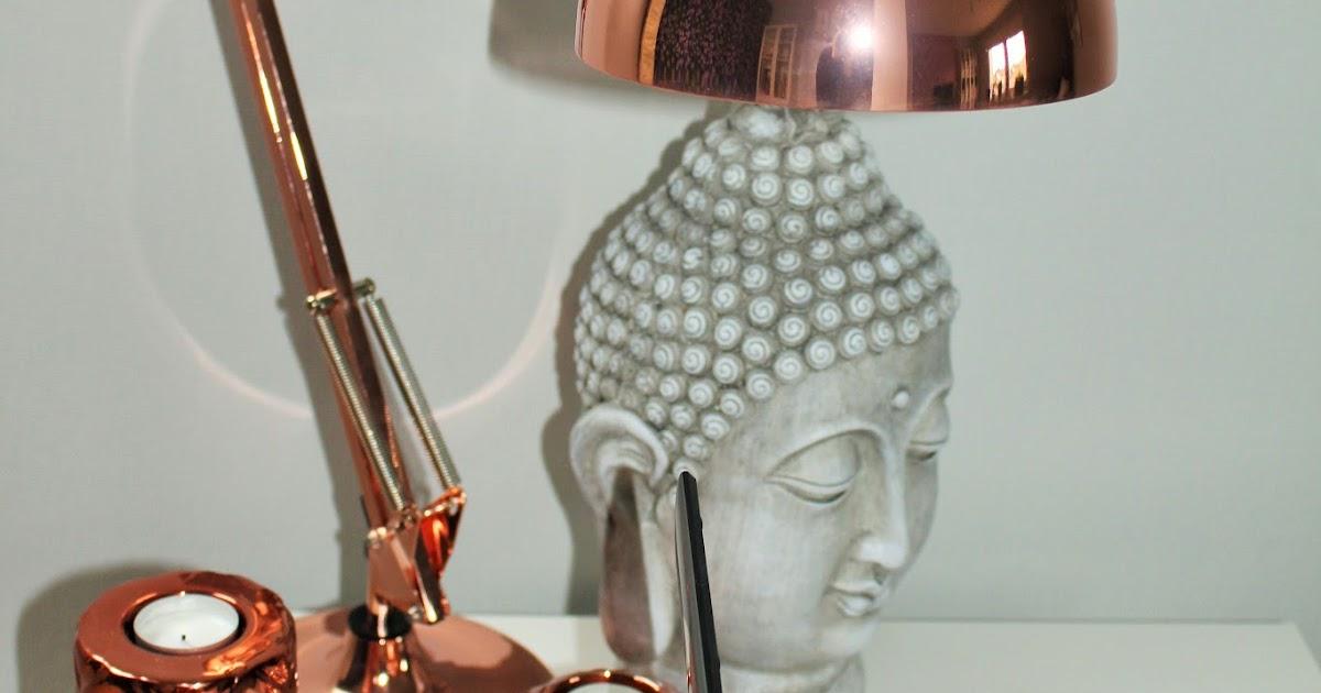 beautiful style rose goldene lampe. Black Bedroom Furniture Sets. Home Design Ideas