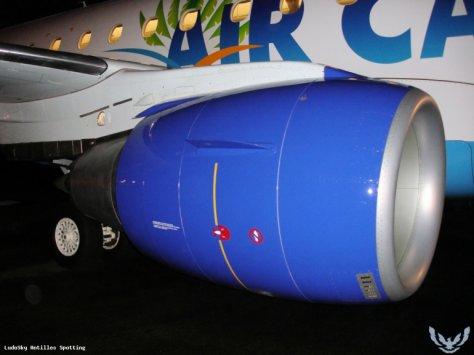 Moteur Airbus Air Caraibes