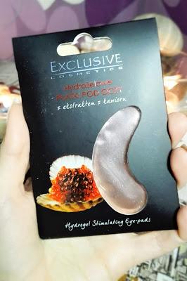 Exclusive, Hydrożelowe płatki pod oczy z ekstraktem z kawioru