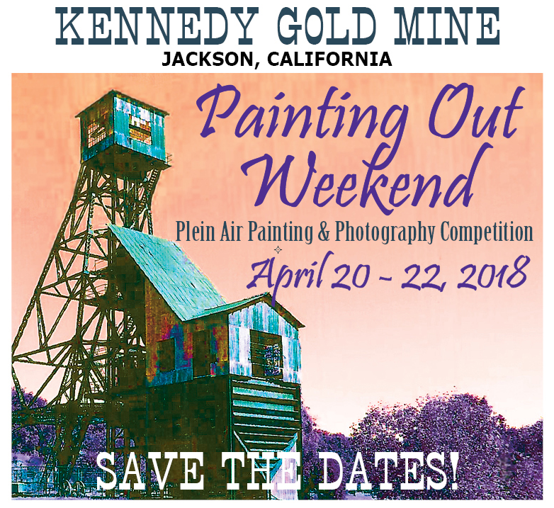 Kennedy Gold Mine Painting Out Weekend - April 20-22