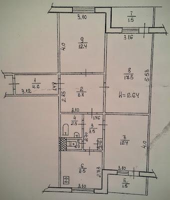 Продажа 3-комнатной квартиры на 3-Восточном