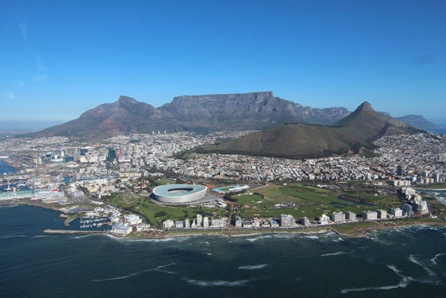 Impresionante la Table Mountain