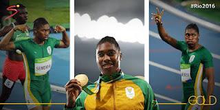 Olympian,South African,Caster Semenya