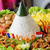 Resep Dan Cara Membuat Nasi Tumpeng Putih