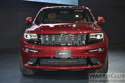 Jeep Grand Cherokee SRT auto expo