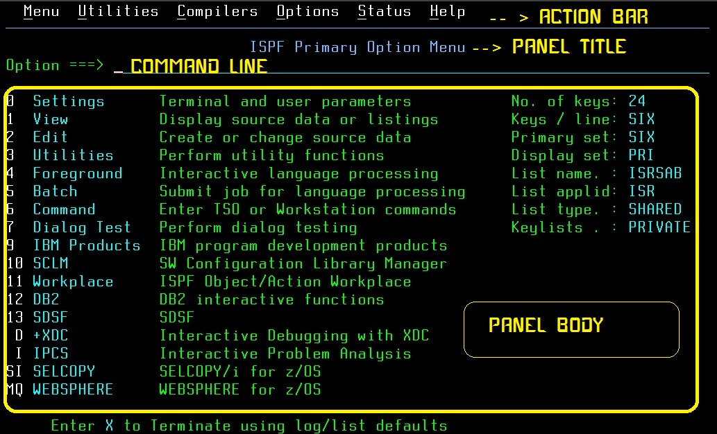Mainframe Commands ~ Mainframe Source