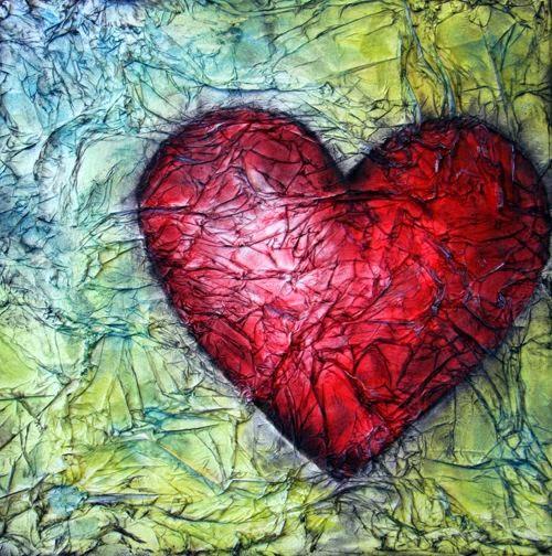 serce z papieru