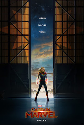 Captain Marvel First Theatrical One Sheet Teaser Movie Poster