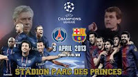Hasil dan Video Paris Saint Germain VS Barcelona 3 April 2013