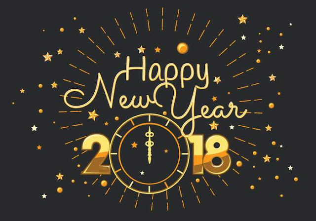 Advance Happy New Year 2018 Photos