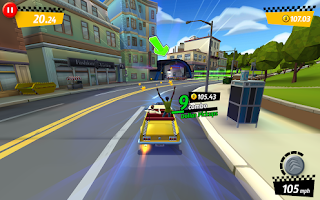 Crazy Taxi City Rush Android Game