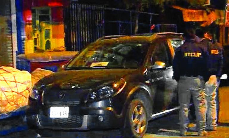 El caso de la Medalla Presidencial destapó hechos que involucran el manejo de los vehículos oficiales / CAPTURA PANTALLA UNITEL