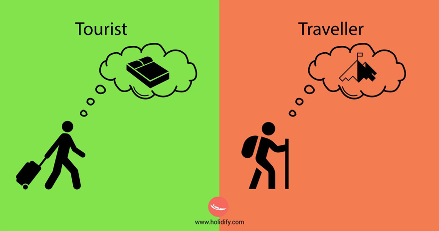 #11 Tourist Vs Traveller - 10+ Differences Between Tourists And Travellers