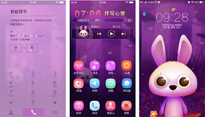 Purly Bunny Theme itz For Vivo