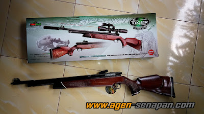 jual senapan murah berkualitas, jual senapan sharp tiger r8 asli original pabrikan, jual sharp murah, jual senapan sharp tiger long truglo pabrikan