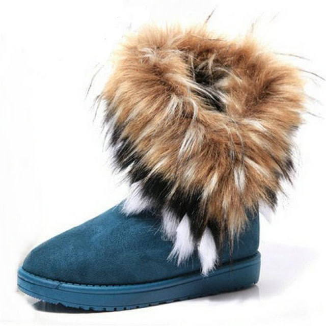 Women's Fur Lined Anti-Skid Winter Boots