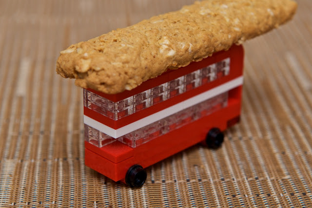 Good Morning McVitie's - United Biscuits - Breakfast - oat - LEGO - Double-decker red bus London