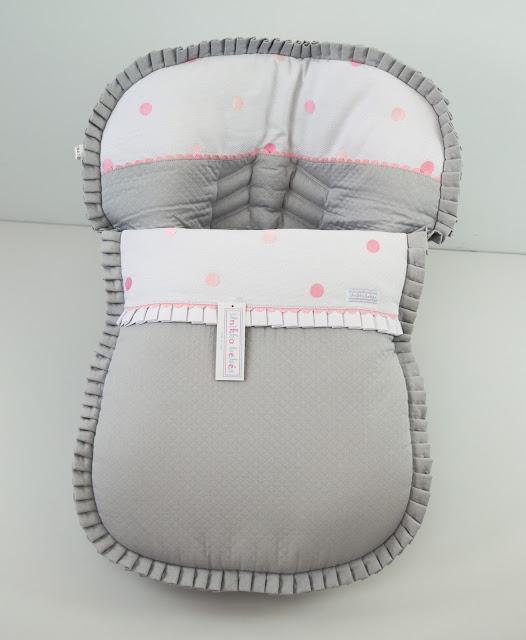 colchoneta grupo 0  gris rosa