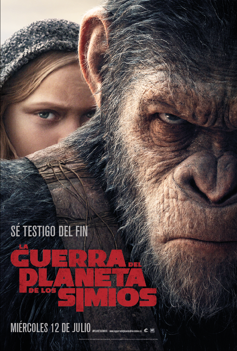 La Guerra del Planeta de los Simios (War for the Planet of the Apes) (V.O.S) (2017)