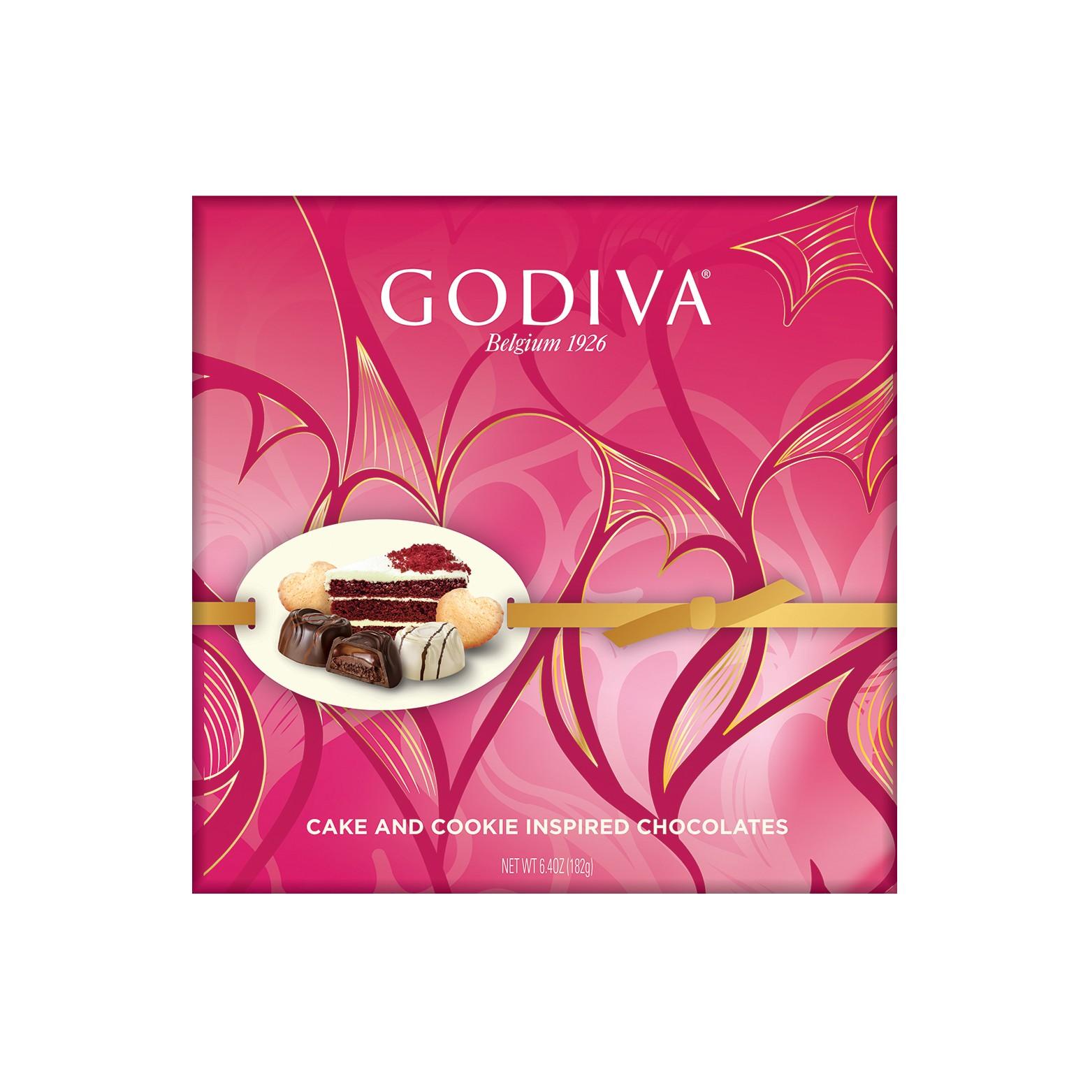 Godiva Cake And Cookie Inspired Chocolates
