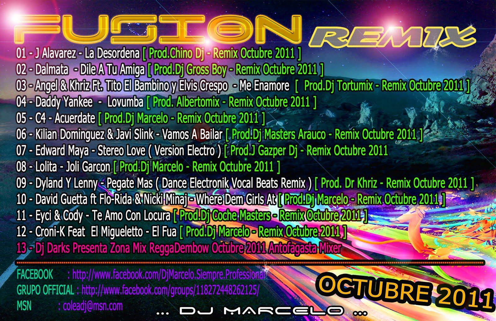 Octubre 2011: DJ HARRY CHILE