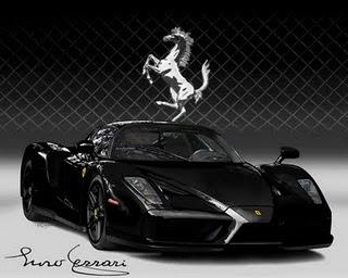 Self Improvement Ferrari Enzo Black