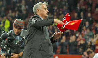 WittySports.co.uk  Jose Mourinho Speaks On 3-0 Defeat, Storms Out Of Press Conference (Photos)
