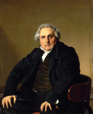 Retrato de Monsieur Bertin, Ingres