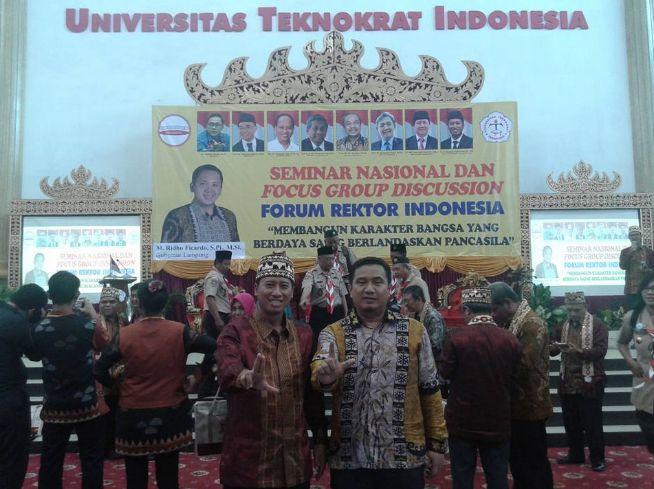 Ketua STIkes Aisyah Pringsewu Hadiri Seminar Nasional Forum Rektor Indonesia