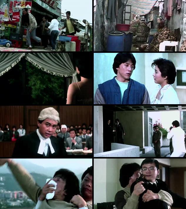 Police Story 1985 Dual Audio [Hindi Eng] 720p BluRay