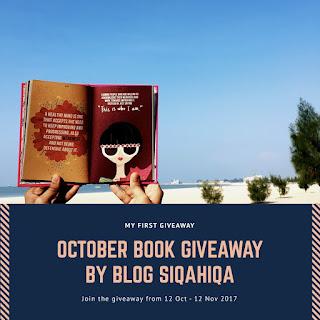 October Book Giveaway by Blog Siqahiqa, Giveaway, Blogger, Blog, Peserta, Pemenang, Sponsor, Hadiah,