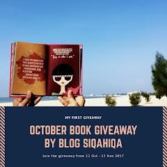 October Book Giveaway by Blog Siqahiqa