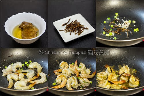 Mandarin Peel Prawns Procedures