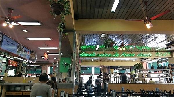 Interior do El Imperio del La Pizza Buenos Aires